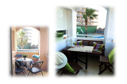 Antes y después terraza Home Staging